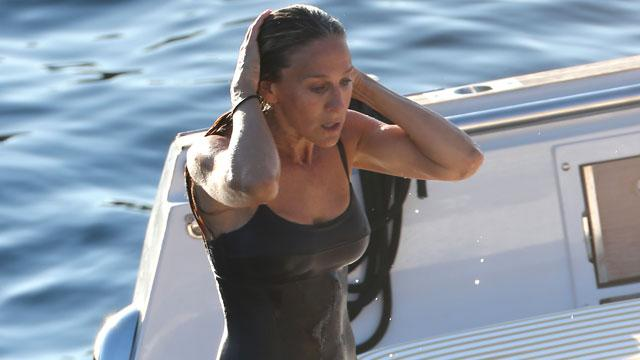 She's 50?! Sarah Jessica Parker Stuns in Sexy Swimsuit During Ibiza Vacation