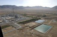 View of a heavy water plant in southern Iran. A UN nuclear inspector was killed and another injured in a car accident in central Iran, according to Iran's country's atomic energy agency