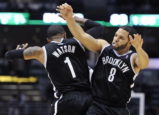 Nets hang on to beat the Bucks 97-94