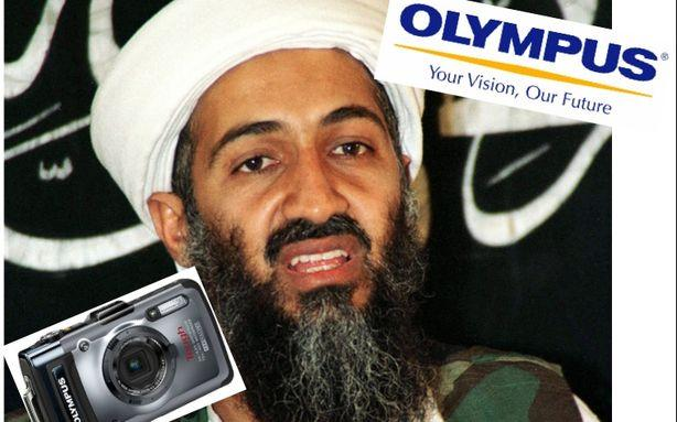 Olympus Senses a Marketing Opportunity in the Death of Bin Laden