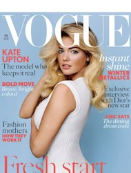 British Vogue Cover, January 2013