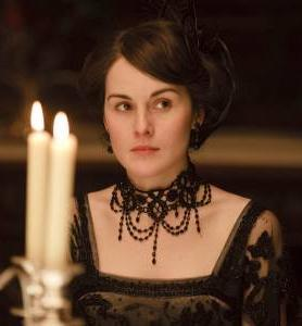"Lady Mary Crawley on ""Downton Abbey,"" played by Michelle Dockery"
