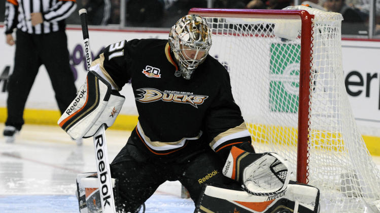 Rookie Freddie Andersen to get Game 1 start for Anaheim Ducks?