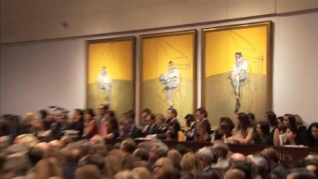 Francis Bacon artwork sets auction record in NY