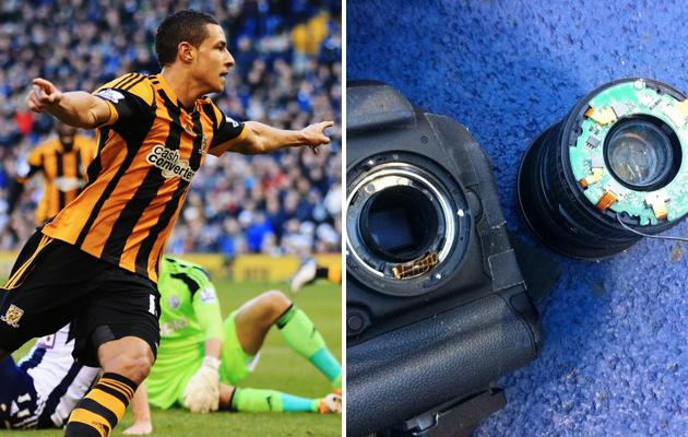 Hull star Livermore breaks £6,000 camera, vows to repay it