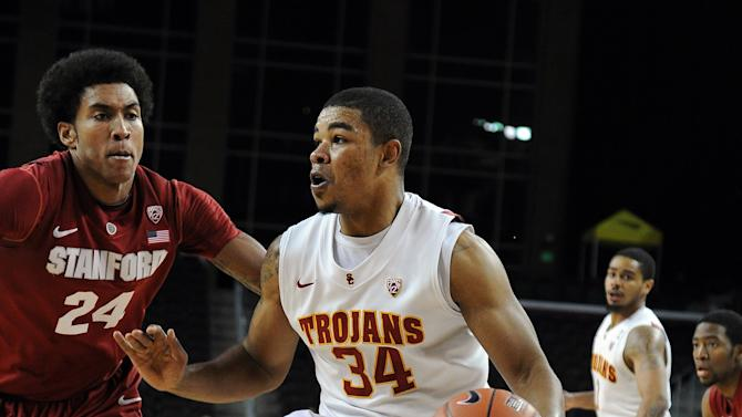 NCAA Basketball: Stanford at USC