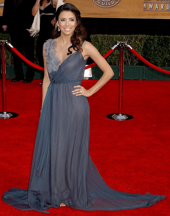 Eva Longoria at the 13th Annual Screen Actors Guild Awards.