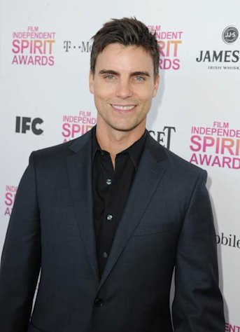 Colin Egglesfield attends the 2013 Film Independent Spirit Awards at Santa Monica Beach on February 23, 2013 -- Getty Images