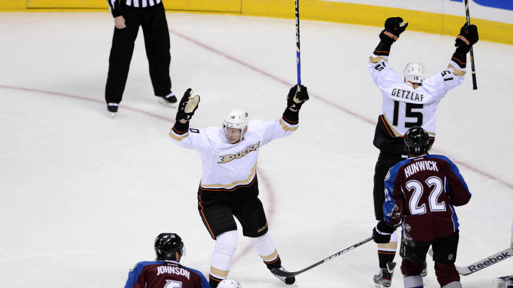 NHL: Anaheim Ducks at Colorado Avalanche