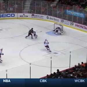 Mike Smith Save on Jakob Silfverberg (03:12/1st)