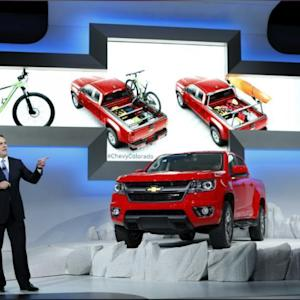 The 2015 Chevrolet Colorado Pickup Truck Gets A Diesel-engine Option