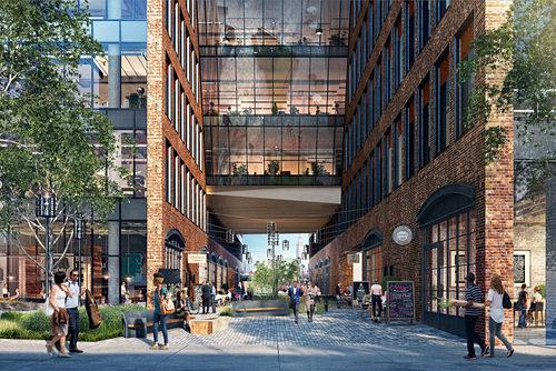 New Looks at Huge Williamsburg Office Complex Designed By Gensler