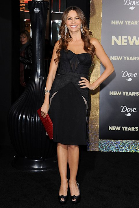 New Year's Eve LA Premiere 2011 Sofia Vergara
