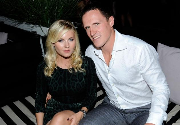 Elisha Cuthbert and Dion Phaneuf are seen at the Toronto International Film Festival in Toronto, Canada on September 10, 2011 -- Getty Images
