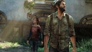 "Ellie (L) and Joel (R) of ""The Last of Us"""