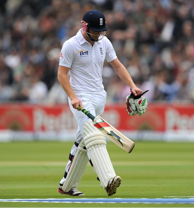 England's Jonny Bairstow fails to trouble scorers on County Championship duty with Yorkshire