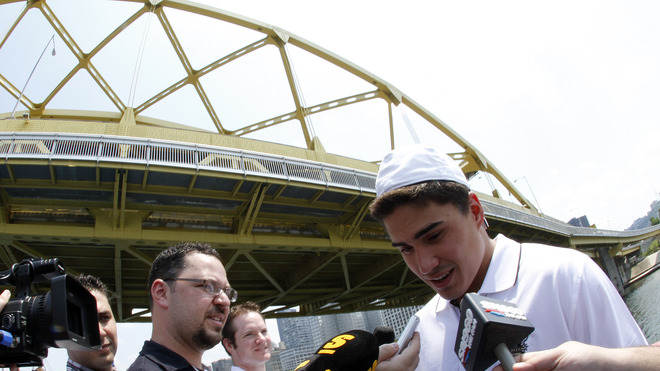 Top NHL Prospect Nail Yakupov Speaks Getty Images