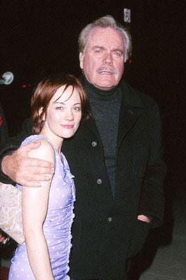 Natasha Gregson Wagner with Robert Wagner at the El Capitan Theatre premiere of Touchstone's High Fidelity in Hollywood
