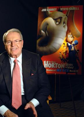 Charles Osgood is the narrator of 20th Century Fox's Dr. Seuss' Horton Hears a Who