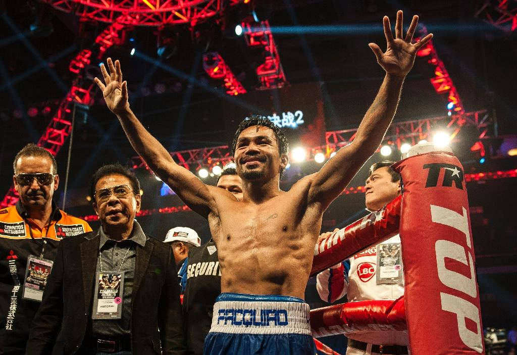 Pacquiao a national symbol of hope in Philippines