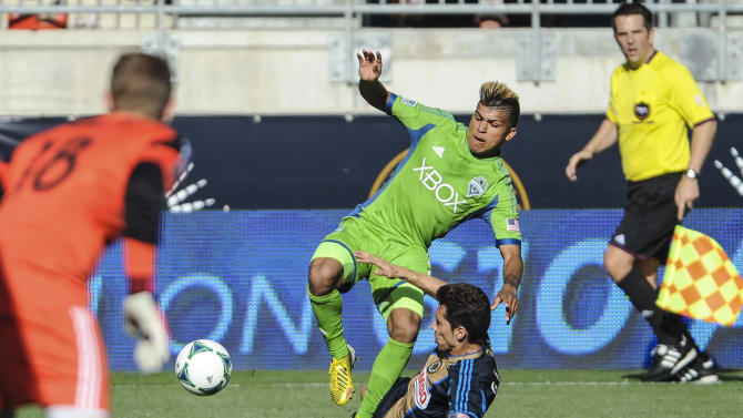 MLS: Seattle Sounders at Philadelphia Union