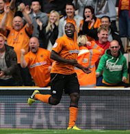 Sylvan Ebanks-Blake scored the first goal of the game for Wolves