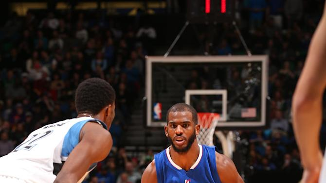 Paul has 26 and 14 as Clippers outlast Timberwolves 110-105