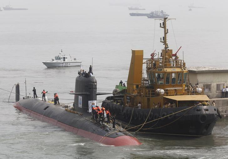 Indian submarine documents stolen, not leaked - French source