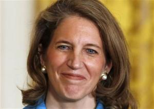 Nominee for Director of the White House Office of Management and Budget Sylvia Mathews Burwell in Washington