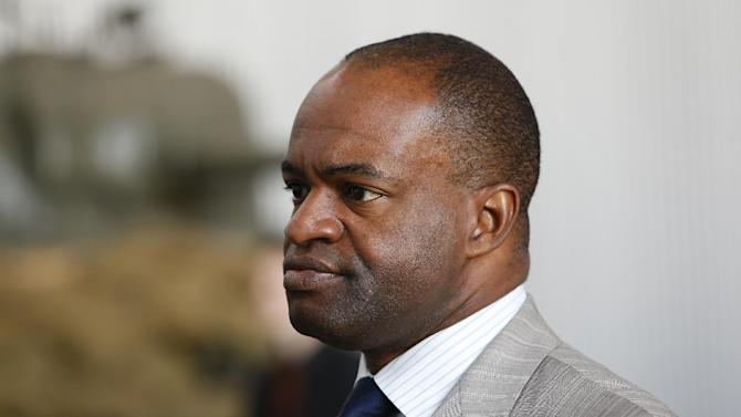 NFLPA Executive Director DeMaurice Smith looks on during the NFLPA Legends Brunch at the National World War II Memorial Museum on Sunday February 3, 2013 in New Orleans, Louisiana. (Aaron M. Sprecher/AP Images for NFLPA)
