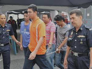 Four youths charged with 67 offences including gang robbery