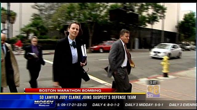 San Diego Lawyer Judy Clarke joins bombing suspect's defense team