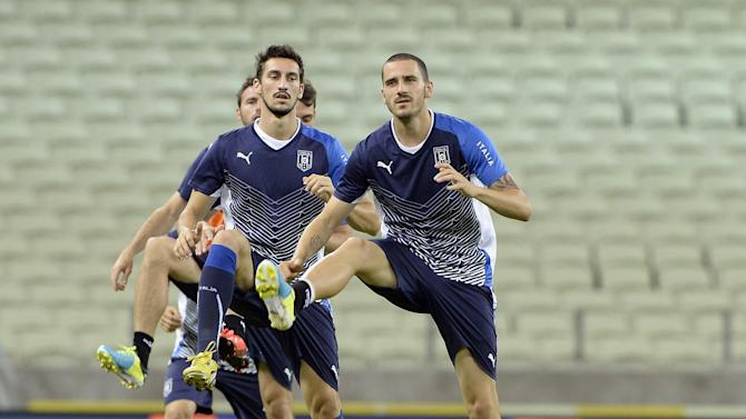 Italy Training and Press Conference - FIFA Confederations Cup Brazil 2013