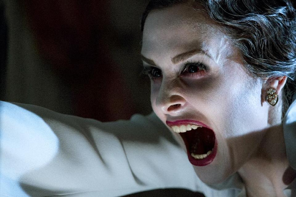 "This film image released by FilmDistrict shows Danielle Bisutti in a scene from ""Insidious: Chapter 2."" (AP Photo/FilmDistrict, Matt Kennedy)"