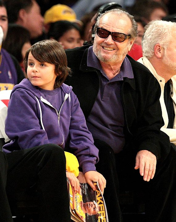 Nicholson Jack Lakers Game