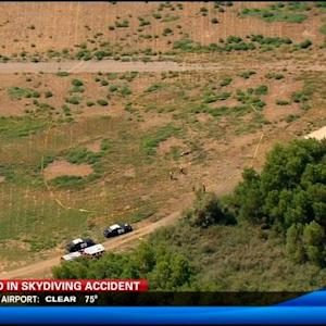1 dead in skydiving accident in Chula Vista