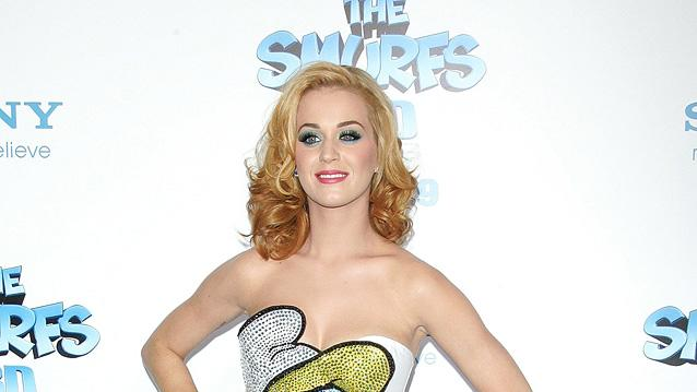 The Smurfs 2011 NY Premiere Katy Perry