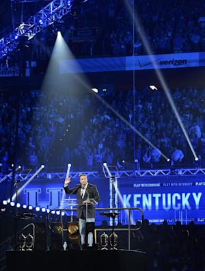 Calipari lauds team at Big Blue Madness