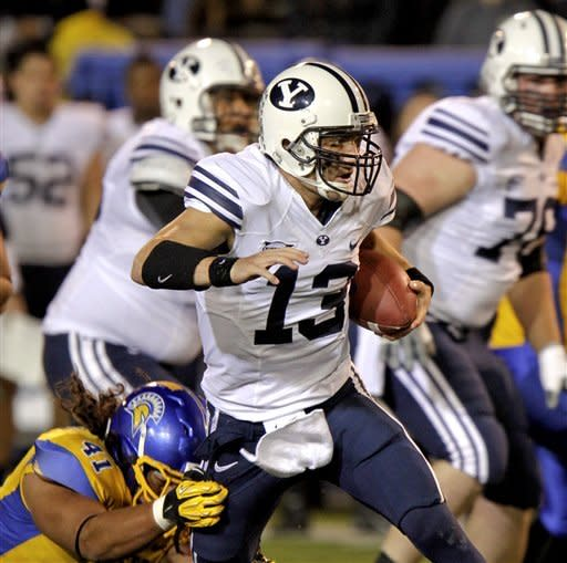 Fales leads San Jose State over BYU 20-14