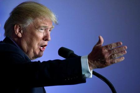 Trump calls for '21st century' Glass-Steagall banking law