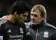 Kenny Dalglish (right) Luis Suarez
