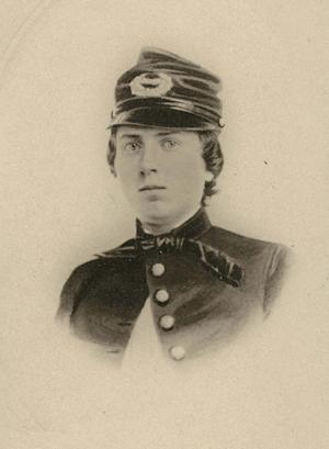 This undated photo provided by the Wisconsin Historical Society shows First Lt. Alonzo Cushing. A Civil War soldier is to be honored with the nation's highest military decoration 151 years after his death.The White House announced Wednesday that President Barack Obama will give the Medal of Honor to Alonzo H. Cushing. His descendants and Civil War buffs have been pushing for the Union Army lieutenant killed at Gettysburg, Pennsylvania to receive the award. (AP Photo/Wisconsin Historical Society)