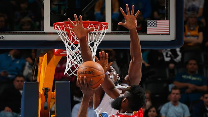 Harden scores 28, Rockets beat Nuggets 114-100