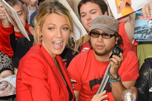 Auch Foto-Profis wie &amp;#34;Gossip Girl&amp;#34; Blake Lively sind vor Schnappsch&#xfc;ssen nie sicher (Bild: Getty Images)