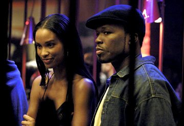 Joy Bryant and Curtis &quot; 50 Cent &quot; Jackson in Paramount Pictures' Get Rich or Die Tryin'