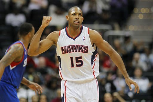 Teague, Tolliver lead Hawks past Sixers 107-96