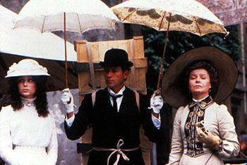 Georgina Cates , Sean Pertwee and Prunella Scales in Stiff Upper Lips