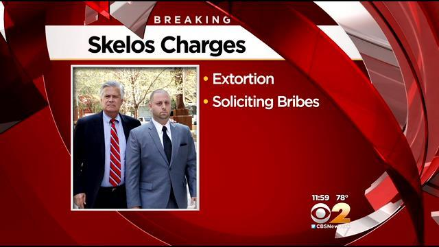 NY Senate boss, charged in corruption case, claims innocence