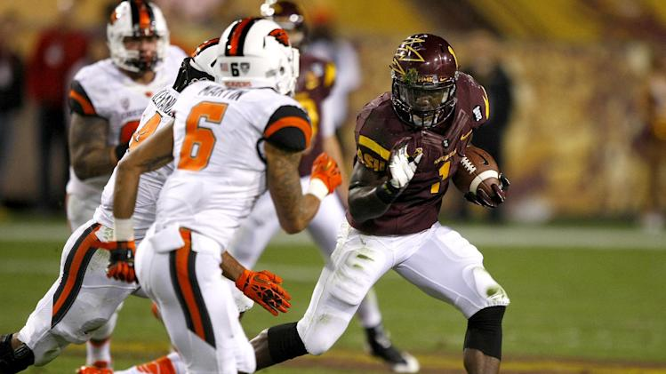 No. 21 Arizona State holds of Oregon State 30-17