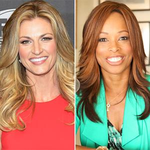 "Erin Andrews Talks Replacing Pam Oliver at Fox Sports, Hosting Dancing With the Stars: ""This Is Not Going to Be Easy For Me"""